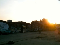 Das verlassene RAW-Areal