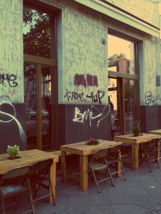 Das Café um die Ecke
