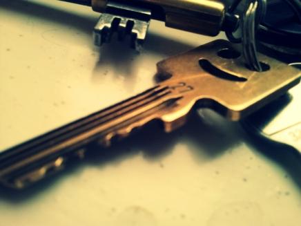 schlüssel zum neuen nestchen