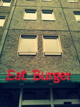 eat burger. NOW.